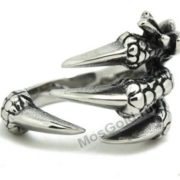 Когти дракона из серебра