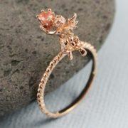 Золотое кольцо Ангелина