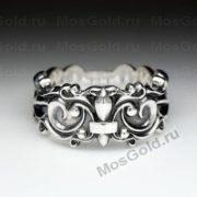 Кольцо с королевской лилией