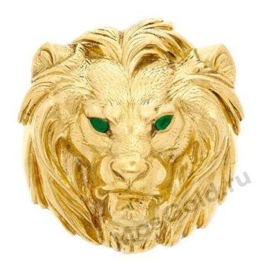 Кольцо Картье лев
