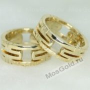 Обручальные кольцо бренда BVLGari