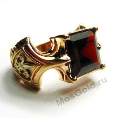 Антикварное мужское кольцо