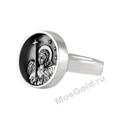 Кольцо ангел хранитель мужское