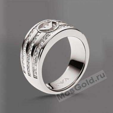 Кольцо Armani с камнями