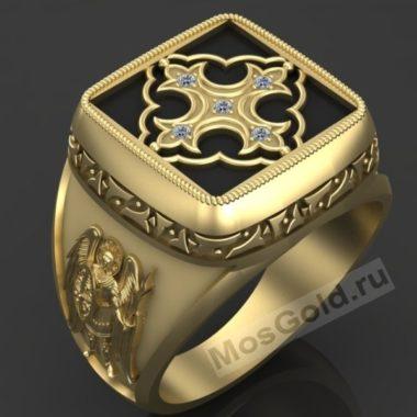 Армянская печатка с эмалью