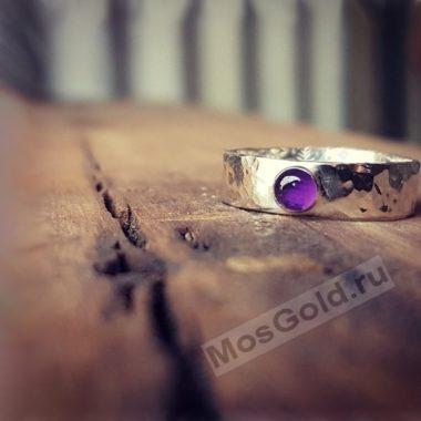 Античное кольцо с аметистом