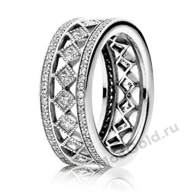 Мужское кольцо Pandora