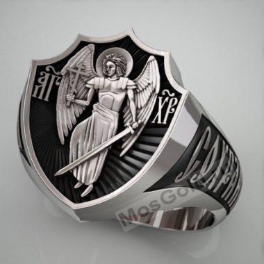 Кольцо церковное мужское