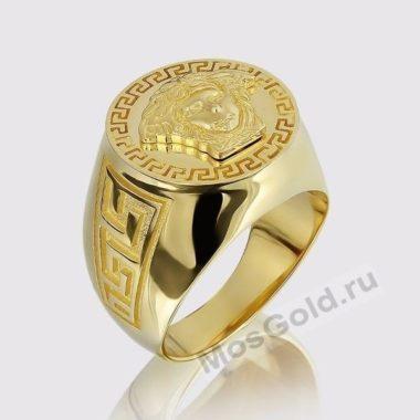 Мужское кольцо Versace