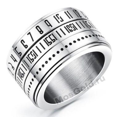 Крутящееся кольцо мужское