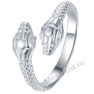 Мужской перстень две змеи