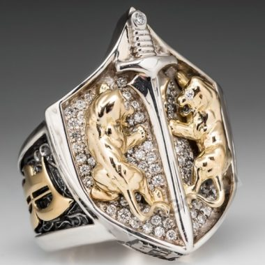 Печатка мужская золото 15 грамм