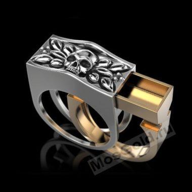 Перстень мужской с секретом