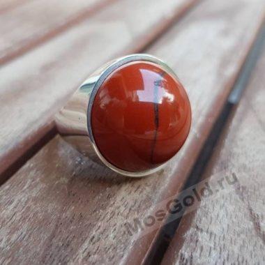 Перстень с яшмой мужской