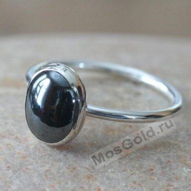 Гематит кольцо женское