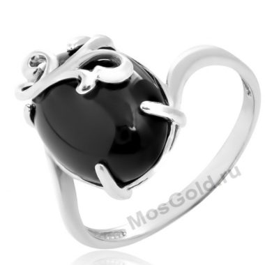 Кольцо с агатом женское