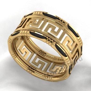 Кольцо Версаче женское