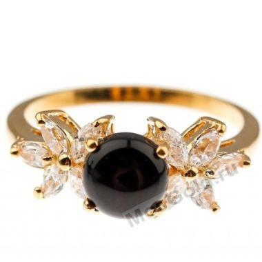 Кольцо с ониксом женское