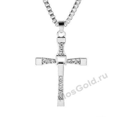 Крест Доминика Торетто с цепочкой