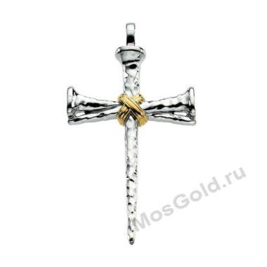 Крест кулон