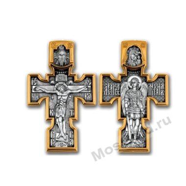 Нательный крест Архангел Михаил