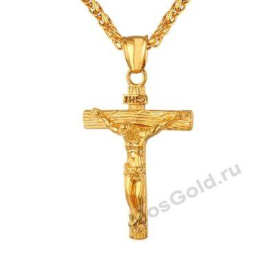 Нательный католический крест