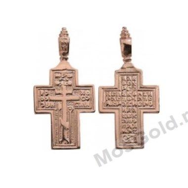 Старообрядческий нательный крест без распятия