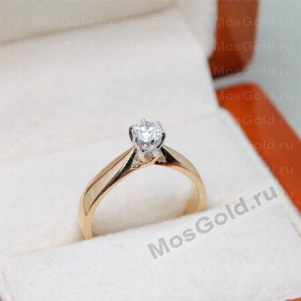 ювелирная мастерская: Помолвочное кольцо с одним камнем