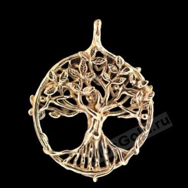 Кулон дерево в круге