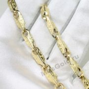 Цепочка и браслет плетение Коин 6 мм