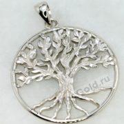 Кулон дерево с корнями