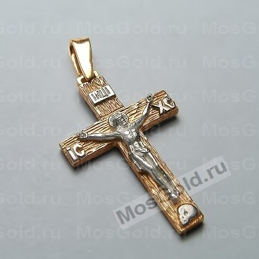 Золотой крестик под дерево