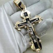 Крестик с бриллиантами