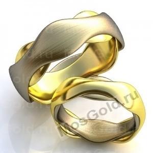 Кольца из комбинированного золота