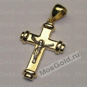 Женский крестик из золота
