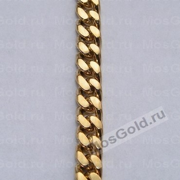 Панцирное плетение золотой цепочки