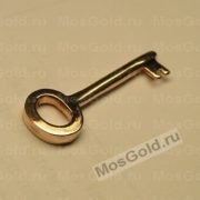 Ключик из красного золота