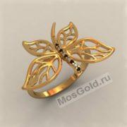 Бабочка с крыльями