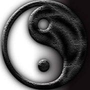 Чёрное и белое инь-янь