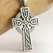 Серебряный кельтский крест