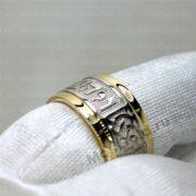 Кольцо Соломона с надписью на иврите